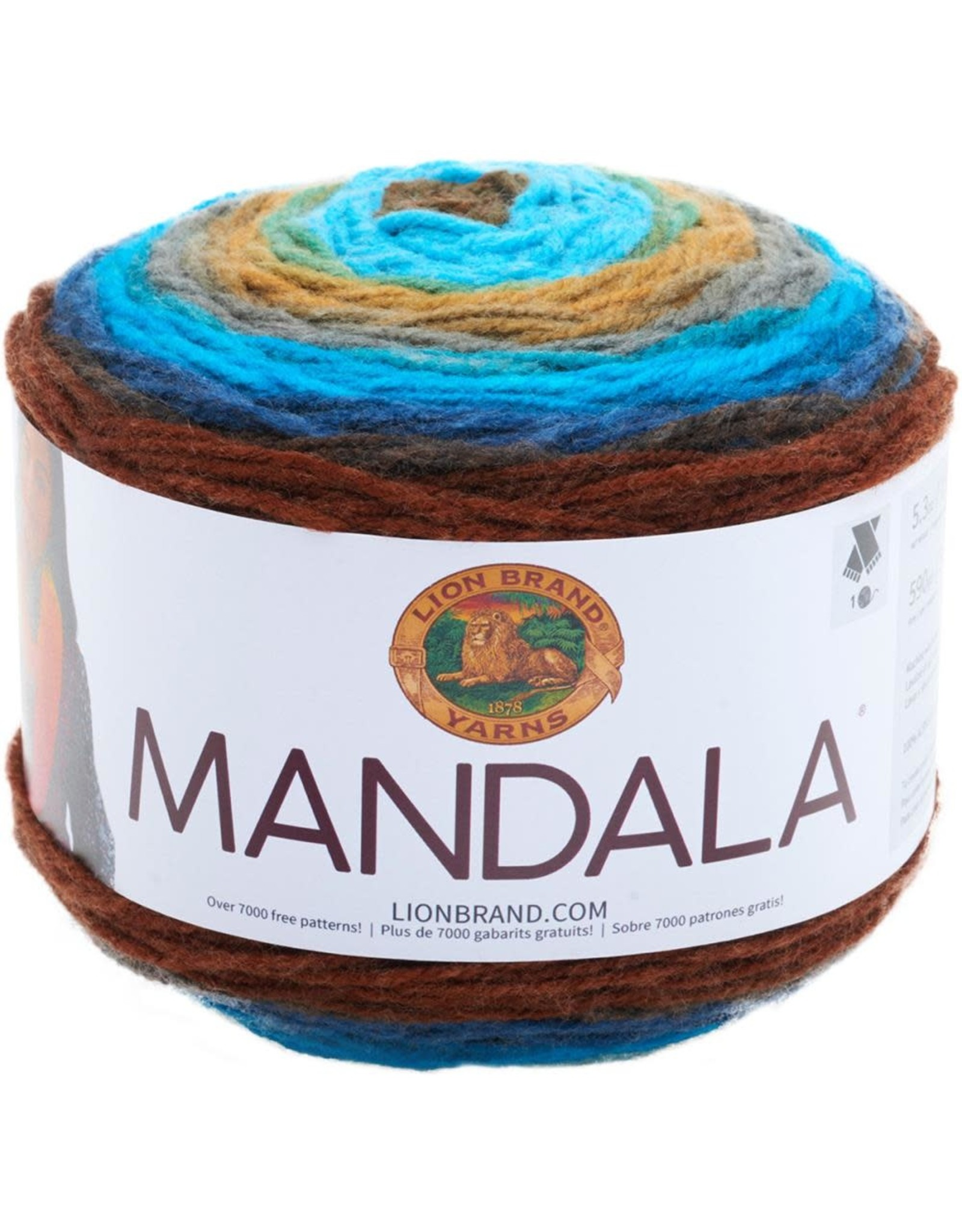 Sphinx - Mandala - Lion Brand