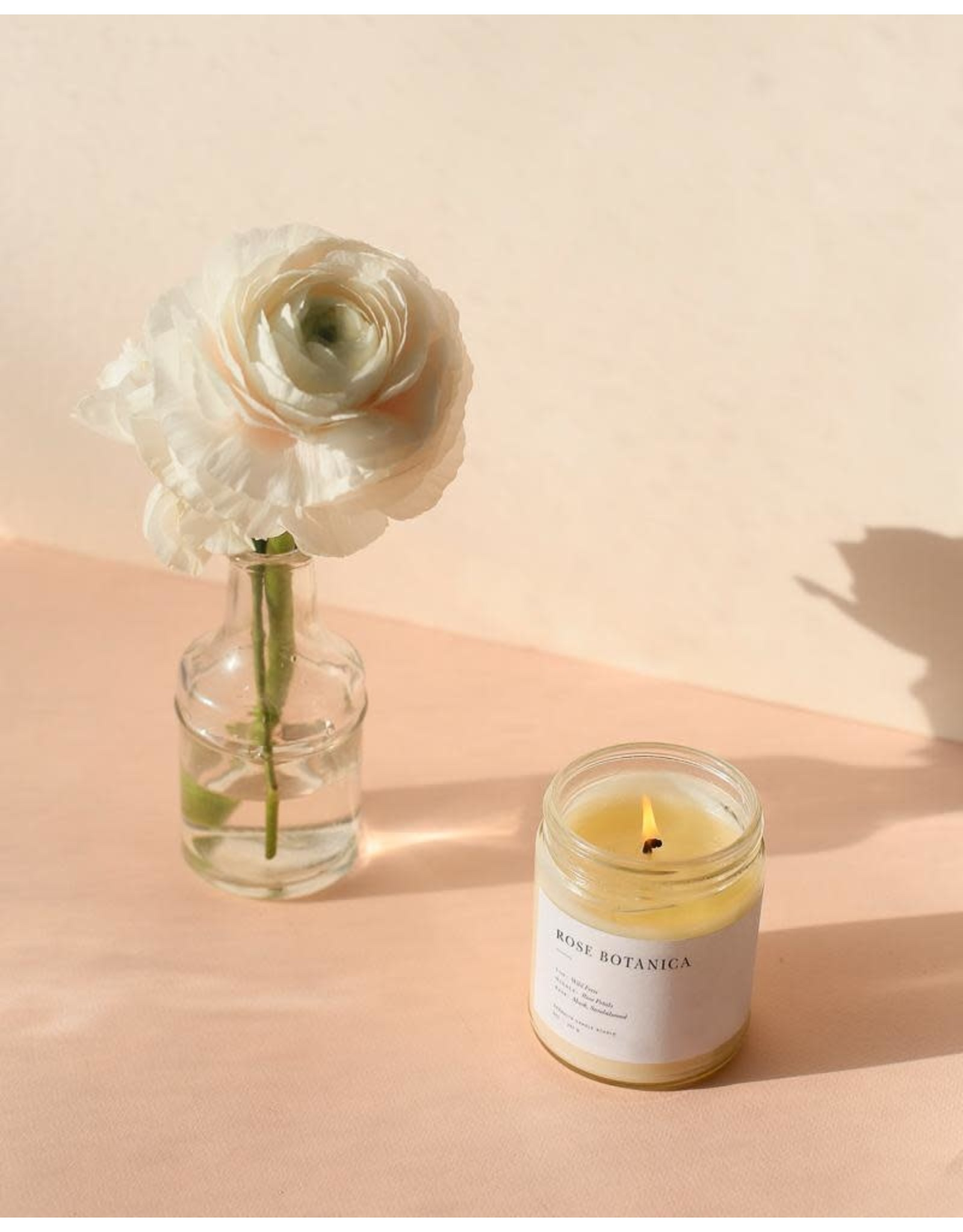 Brooklyn Candle Studio Rose Botanica - Minimalist Jar Candle - Brooklyn Candle Studio
