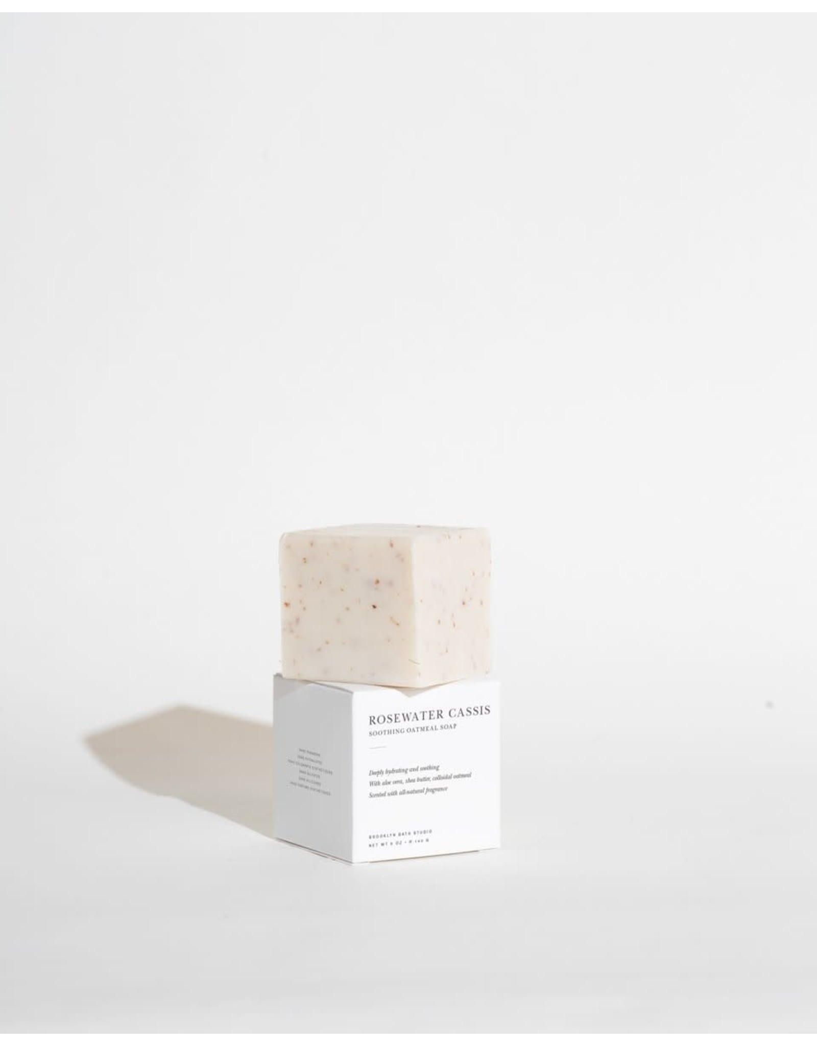 Brooklyn Candle Studio Rosewater Cassis Soothing Oatmeal Soap - Brooklyn Candle Studio