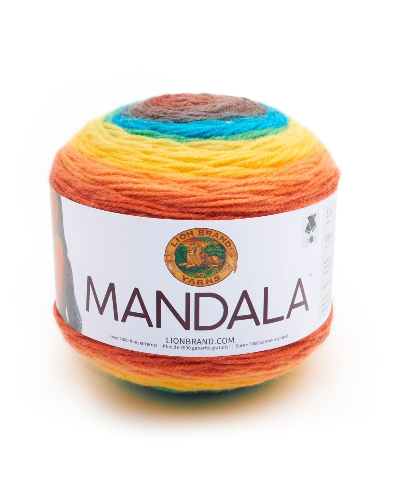 Thunderbird - Mandala - Lion Brand