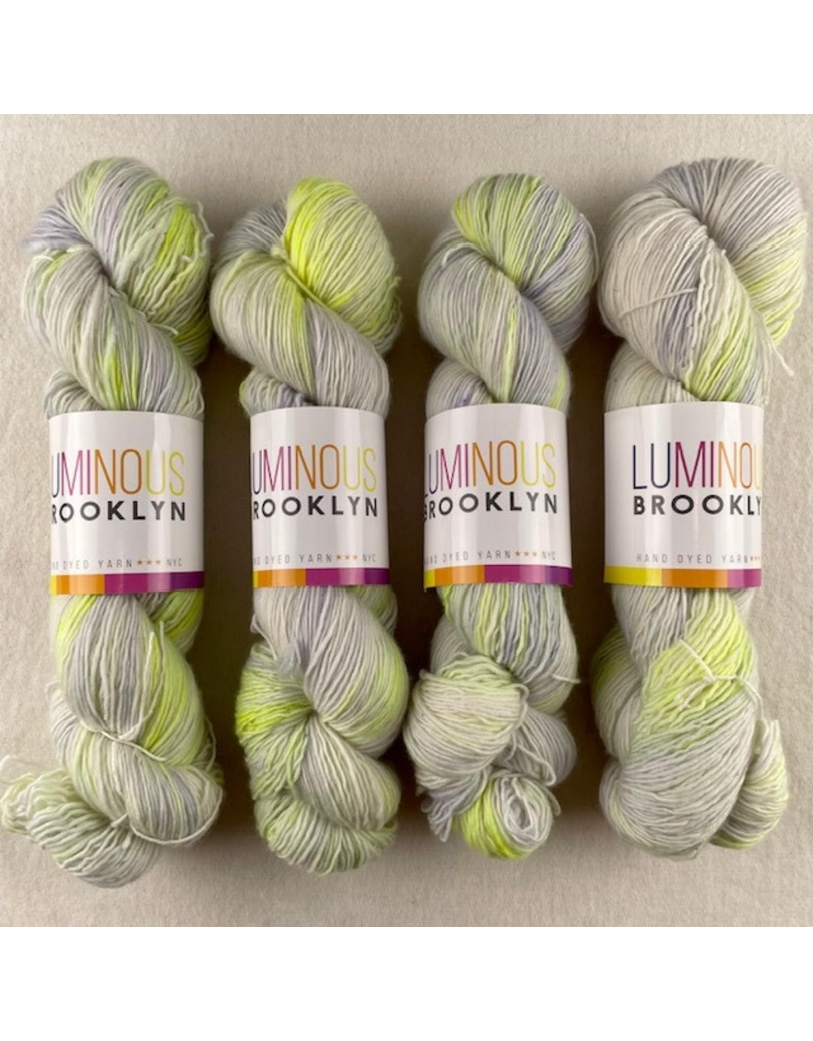 Luminous Brooklyn Blind Lemon - Brilliant Fine Weight - Luminous Brooklyn