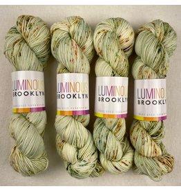 Luminous Brooklyn Green Flash - Radiant Sock - Luminous Brooklyn