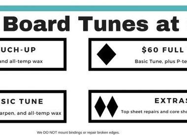 Ski/Board Tunes