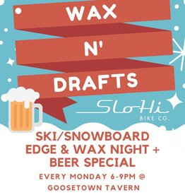 Wax N' Drafts at Goosetown Tavern