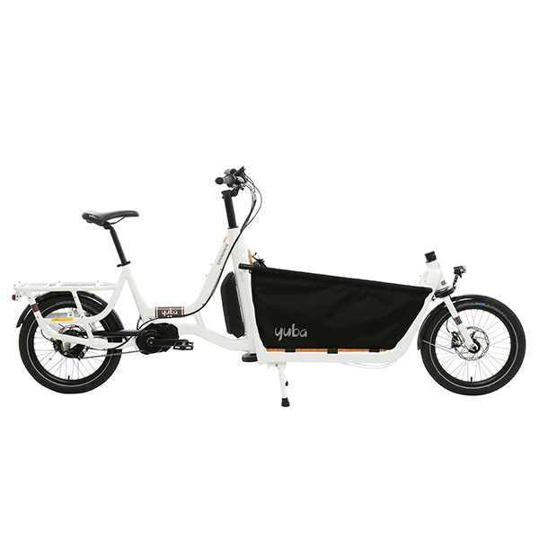 Yuba Supermarche Bosch Electric Front Loader Cargo Bike