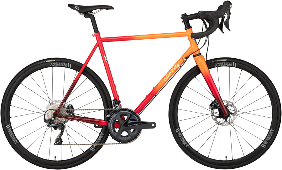 All-City Zig Zag All-Road Bike Ultegra Orange/Red