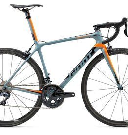 Giant 2018 TCR Advanced SL 2 - KOM ML Matt Char/Neon Org/Blk