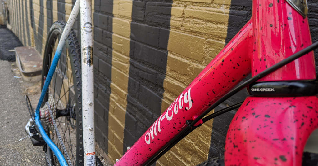 All City Nature Cross downtube graphics