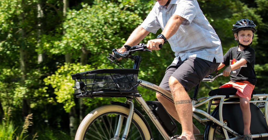 Cargo bike seat pads