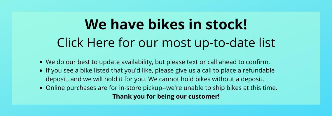 In-Stock Bikes
