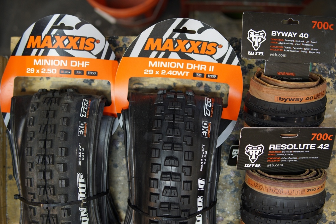 Winter tire recommendations for gravel and mountain bikers