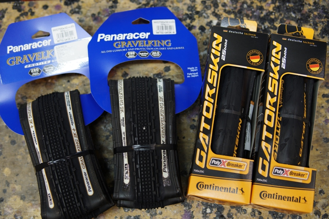 Winter tire recommendations for road bikers