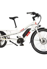 Yuba Spicy Curry Bosch Electric Cargo Bike White