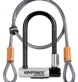 Kryptonite Kryptonite KryptoLok Mini-7 U-Lock with 4' Flex Cable and Bracket