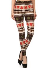Christmas Tree Print Print Leggings Buttery Soft ONE SIZE<br /> 92% Polyester 8% Spandex
