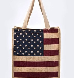 American Flag Tote MC023