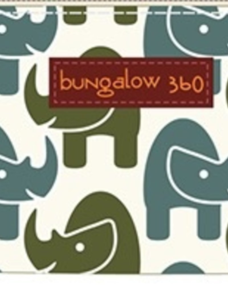 Bungalow 360 Rhino Zip Around Wallet <br /> Durable natural cotton canvas<br /> Cute polka dot lining<br /> Zipper closure with signature peace sign pull<br /> 4 interior card slots, 1 interior clear ID slot<br /> 1 interior zip coin pocket, 2 paper bill compartments<br /> 100% Vegan, Measu