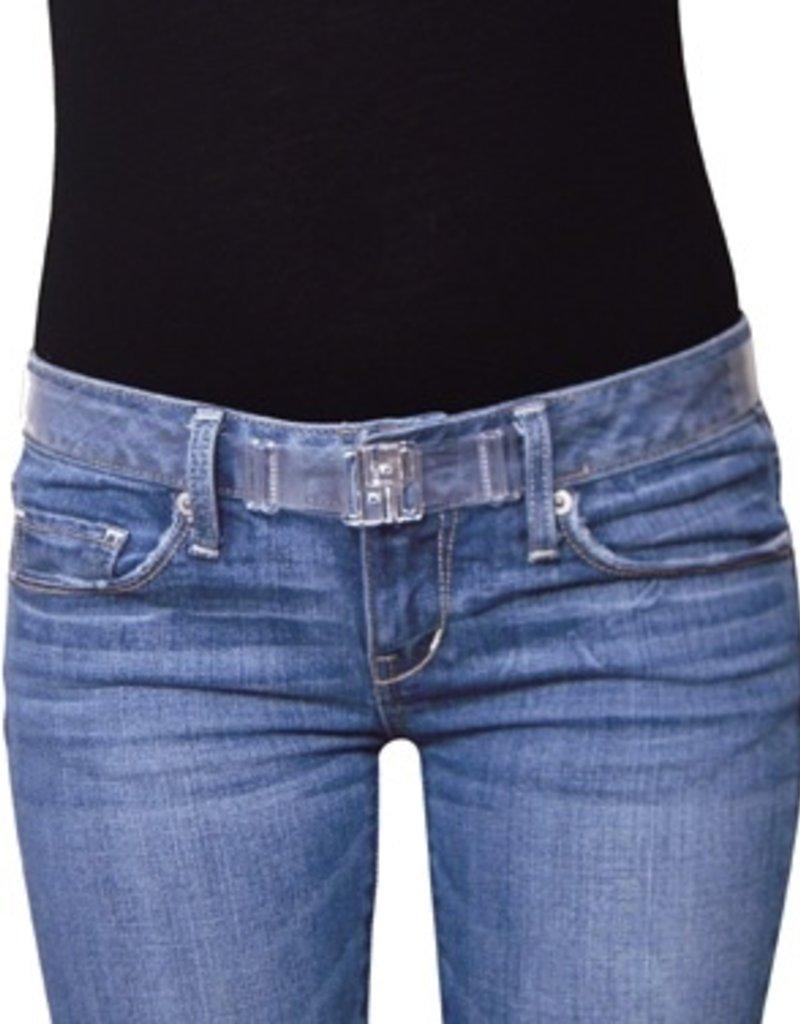 isABelt Wide One Size<br /> Clear, Adjustable<br /> Flat Belt No Bulk <br /> Magnetic Closure