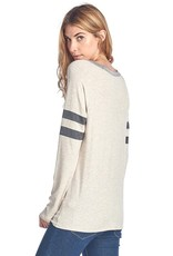 Resting Witch Face Halloween Long Sleeve Top<br /> 95% Rayon 5% Spandex<br /> Made in USA