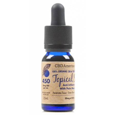 CAS 450mg Terpene Rich Topical Serum (15mL)
