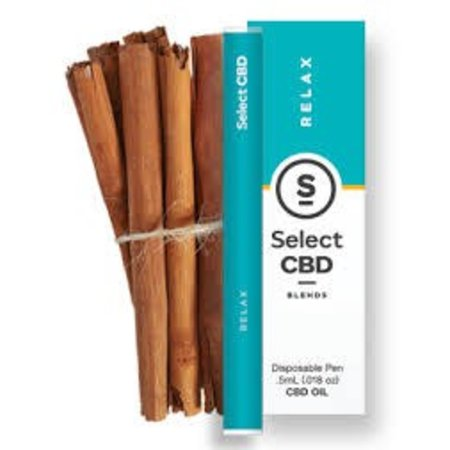 Select CBD Disposable Vape Pen Cinnamon 250mg