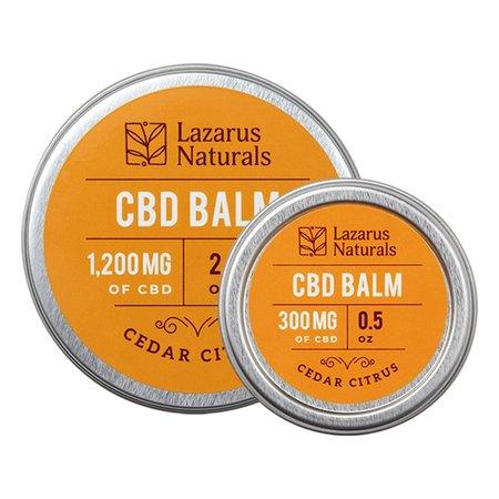 Lazarus Naturals Cedar Citrus Balm 300mg