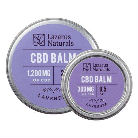 Lazarus Naturals Lavender CBD Balm 300mg