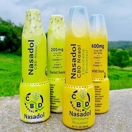 Nasadol 400mg CBD Nasal Spray w Limonene