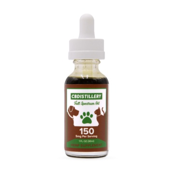 CBDistillery 150mg Pet Tincture