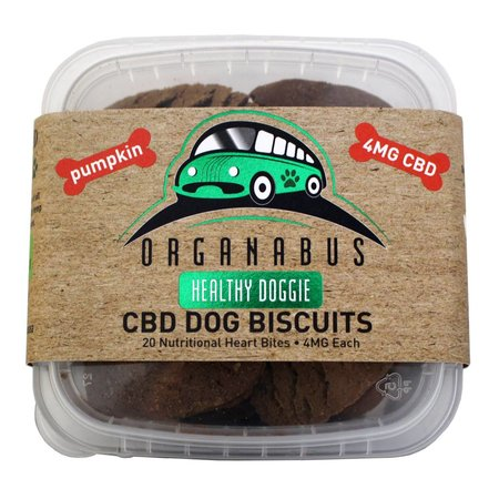 CBD Dog Biscuits 4.5mg 20ct.