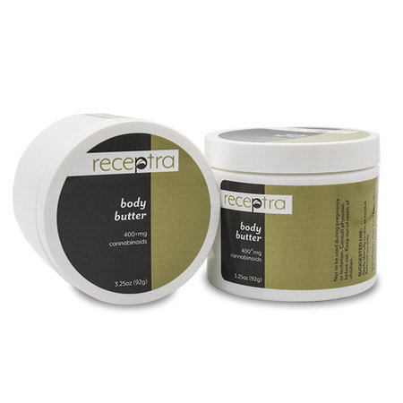 Receptra Body Butter 400mg CBD 3.25oz