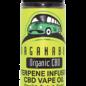Organabus Organic CBD Terpene Infused 450mg Vape Oil 60ml Banana Kush