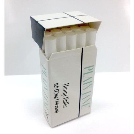 Plain Jane Hemp Pre Roll CIG pk10