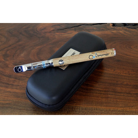 O2 Vape Variable Premium Kit Wood w/cart