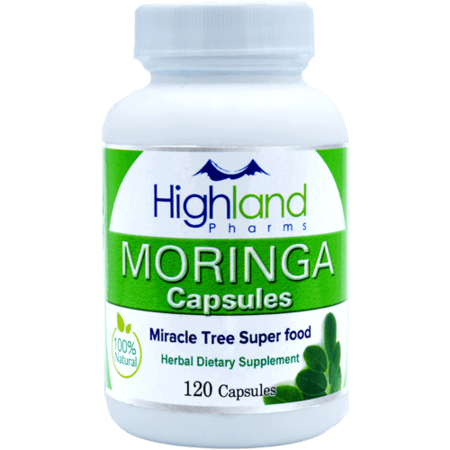 Highland Pharms Moringa Super Food – 120ct
