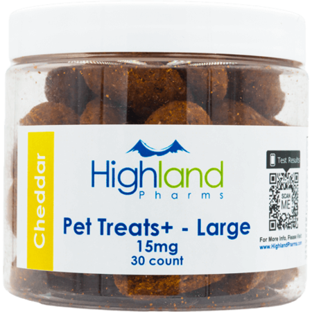 Pet Treats Large 15mg 30 count