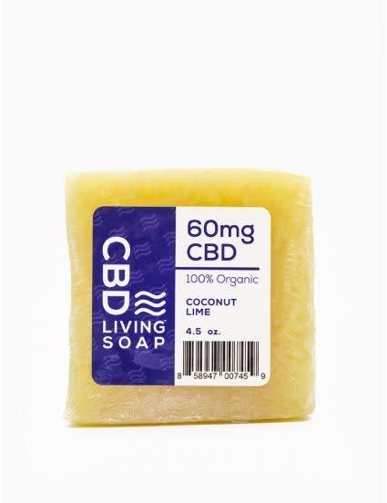 CBD Living Bar Soap Coconut Lime
