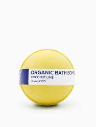 CBD Living Bath Bomb Coconut Lime