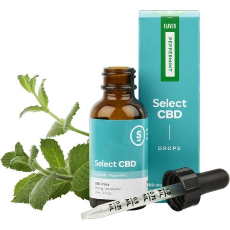 Select CBD 1000mg Drops Peppermint