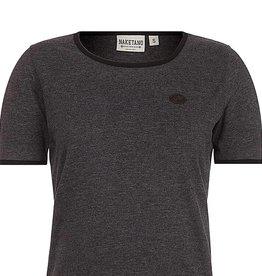 Naketano T Shirt print dark blue herren shirts