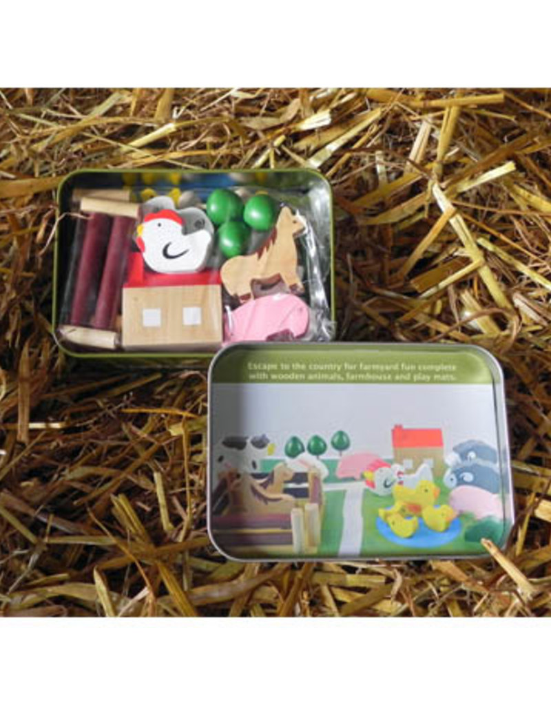 Apples to Pears Gifts in a Tin- Farm