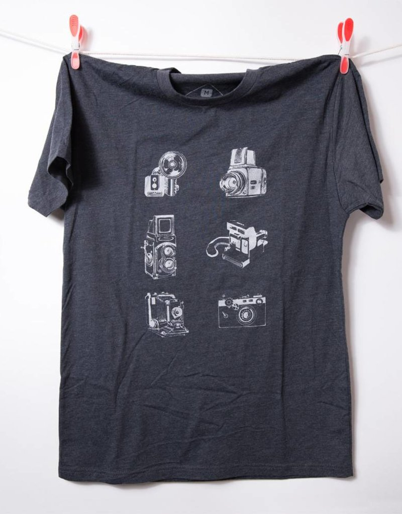 THREADWORK Vintage Cameras Tee