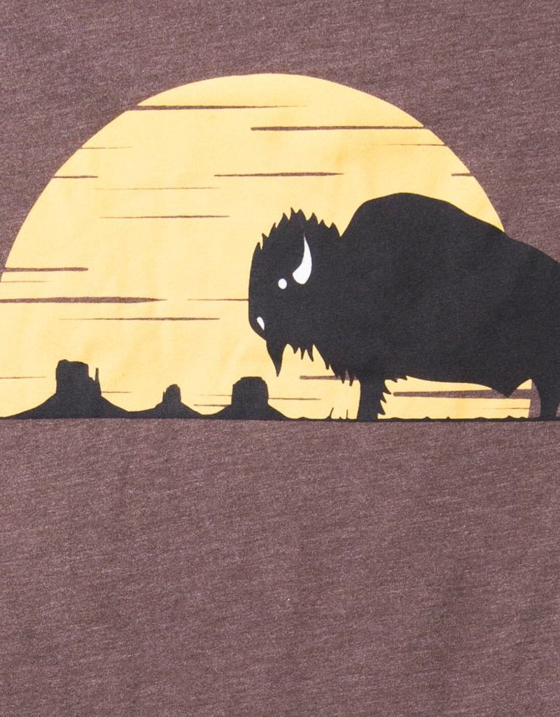 THREADWORK Mens Tee - Monument Bison