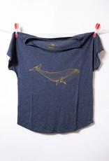 THREADWORK Womens Tee - Whale