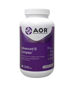 AOR Advanced B Complex, 180 capsules