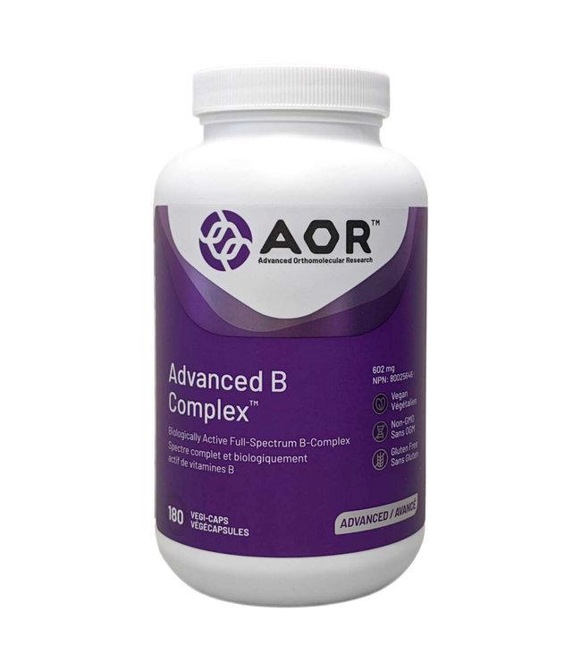AOR Advanced B Complex, 180 capsules