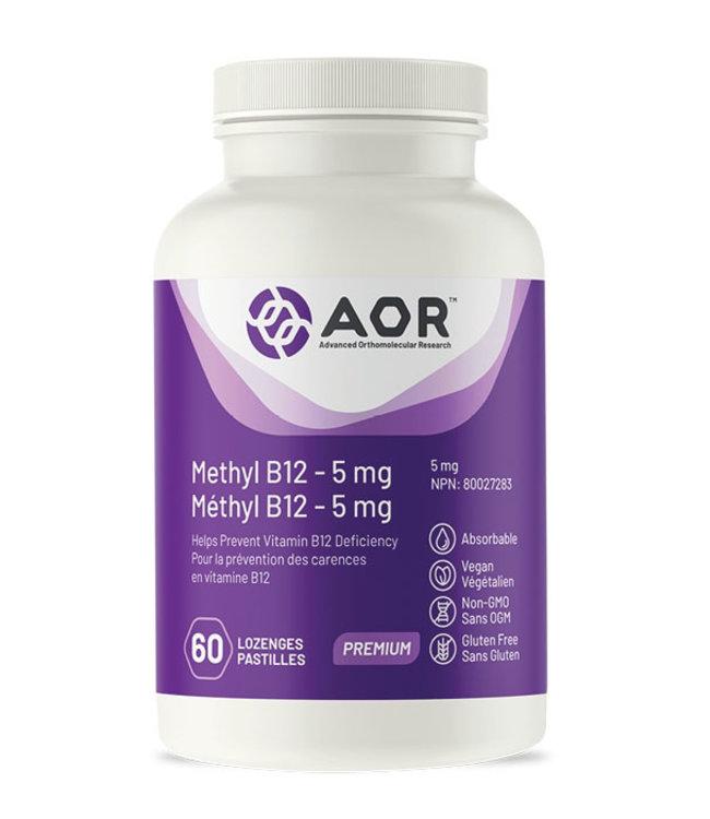 AOR Methyl B12 - 5mg, 60 caps