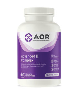 AOR Advanced B Complex, 90 capsules