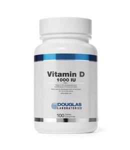 Douglas Labratories Vitamin D 1000UI, 100 tabs