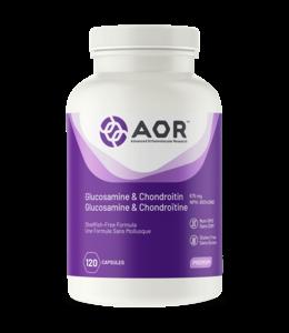 AOR Glucosamine and Chondroitin, 120 caps